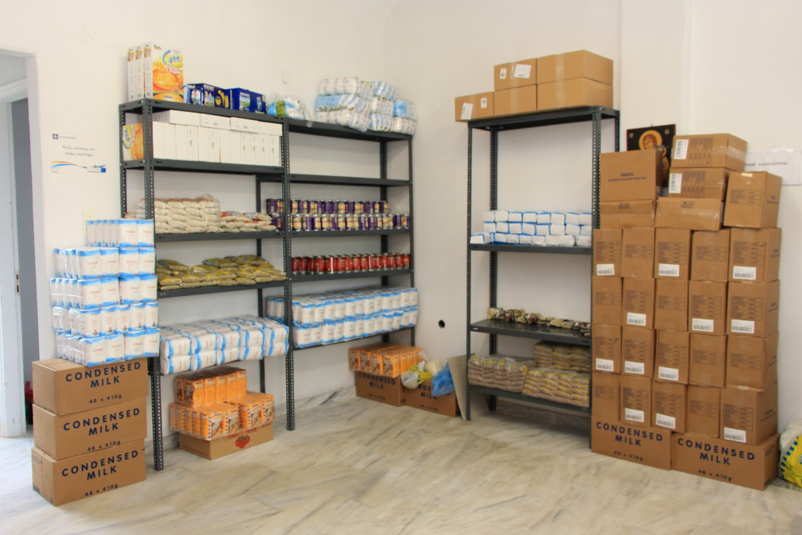 Διανομή τροφίμων σε Ιστιαία και Αιδηψό στο Κοινωνικό Παντοπωλείο