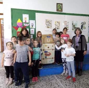 «Το Μουσείο πάει Σχολείο» από το Δημοτικό σχολείο Ωρεών