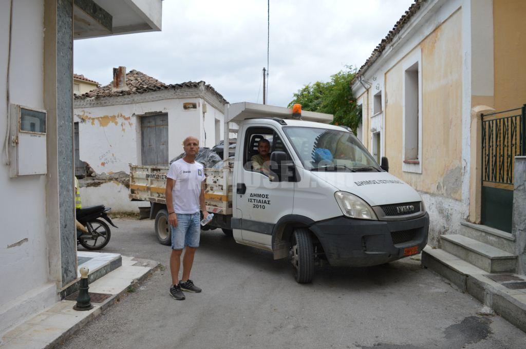 Η νέα Δ.Α. του Δήμου Ιστιαίας – Αιδηψού ξεκίνησε το νοικοκύρεμα