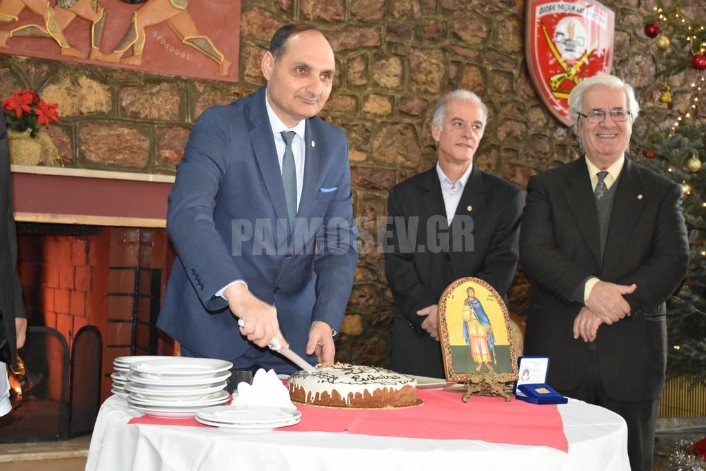 Κοπή Βασιλόπιτας του Συνδέσμου Εφέδρων Αξιωματικών Νομού Ευβοίας στη Χαλκίδα