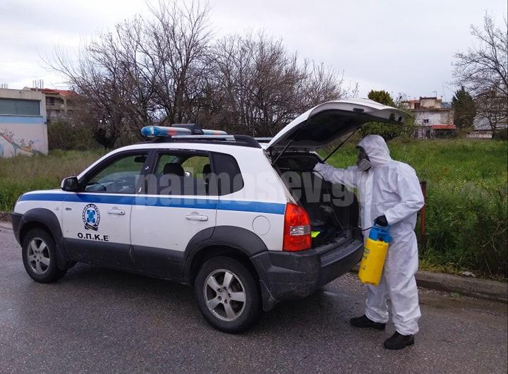Ευχαριστήριο της Γ΄ ΟΠΚΕ στο Δήμαρχο Ιστιαίας – Αιδηψού για την απολύμανση του αστυνομικού οχήματος
