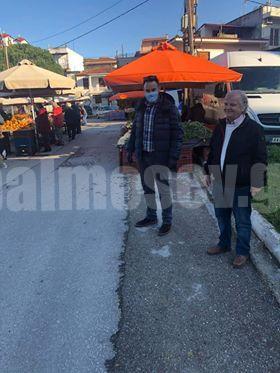 Αντιδήμαρχοι Δ.Σκοπελίτης– Π. Αρβανίτης: Όλα τα μέτρα τηρούνται στη λαϊκή του Μαντουδίου