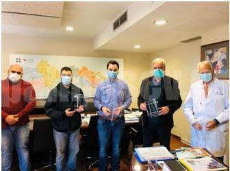 5Η ΥΠΕ Θεσσαλίας και Στερεάς Ελλάδας: Ευχαριστήριο στην ομάδα TED3D του Παν/μίου Θεσσαλίας για τις full fase shield