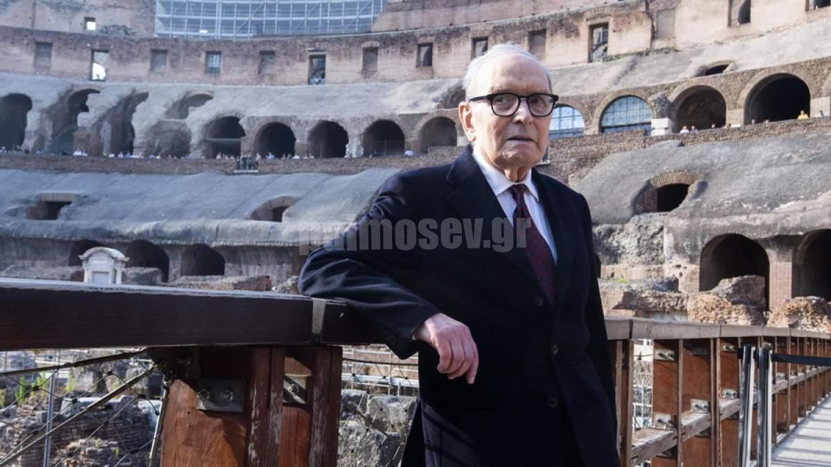 Στα 91 του πέθανε ο σπουδαίος Ιταλός συνθέτης Ένιο Μορικόνε