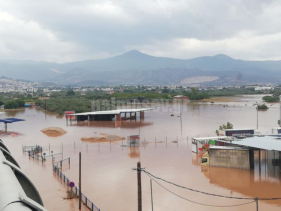 Οι πολίτες της Στερεάς νιώθουν πλέον ανασφαλείς. Η Στερεά Υπεροχής στις πληγείσες περιοχές της Φθιώτιδας.