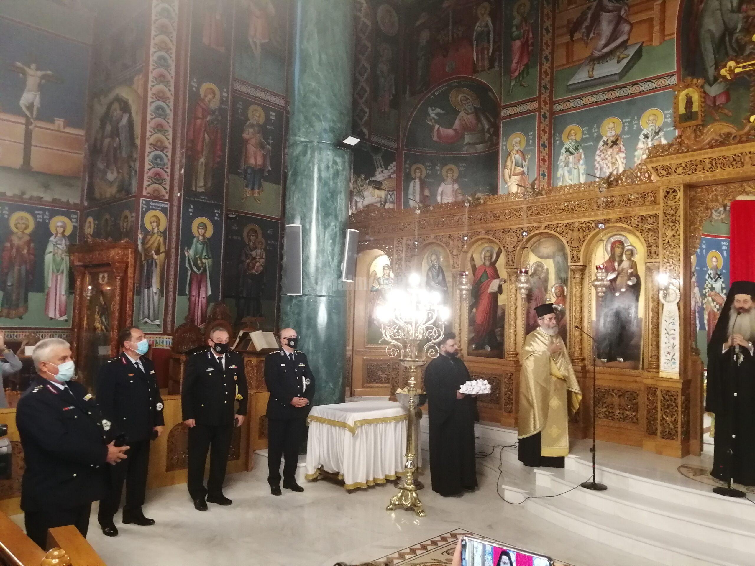 Εορτασμός του Προστάτου του Σώματος Αγίου Αρτεμίου και της «Ημέρας της Ελληνικής Αστυνομίας»