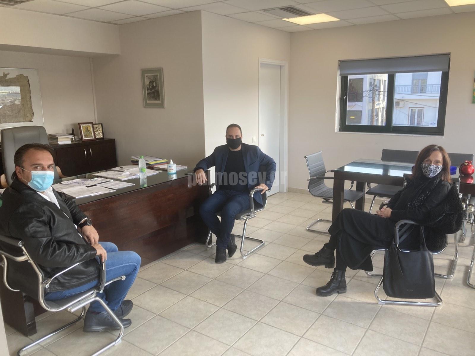Συνάντηση του Μ. Χατζηγιαννάκη με τον Δήμαρχο Ιστιαίας-Αιδηψού και επίσκεψη στο Κέντρο Υγείας Ιστιαίας