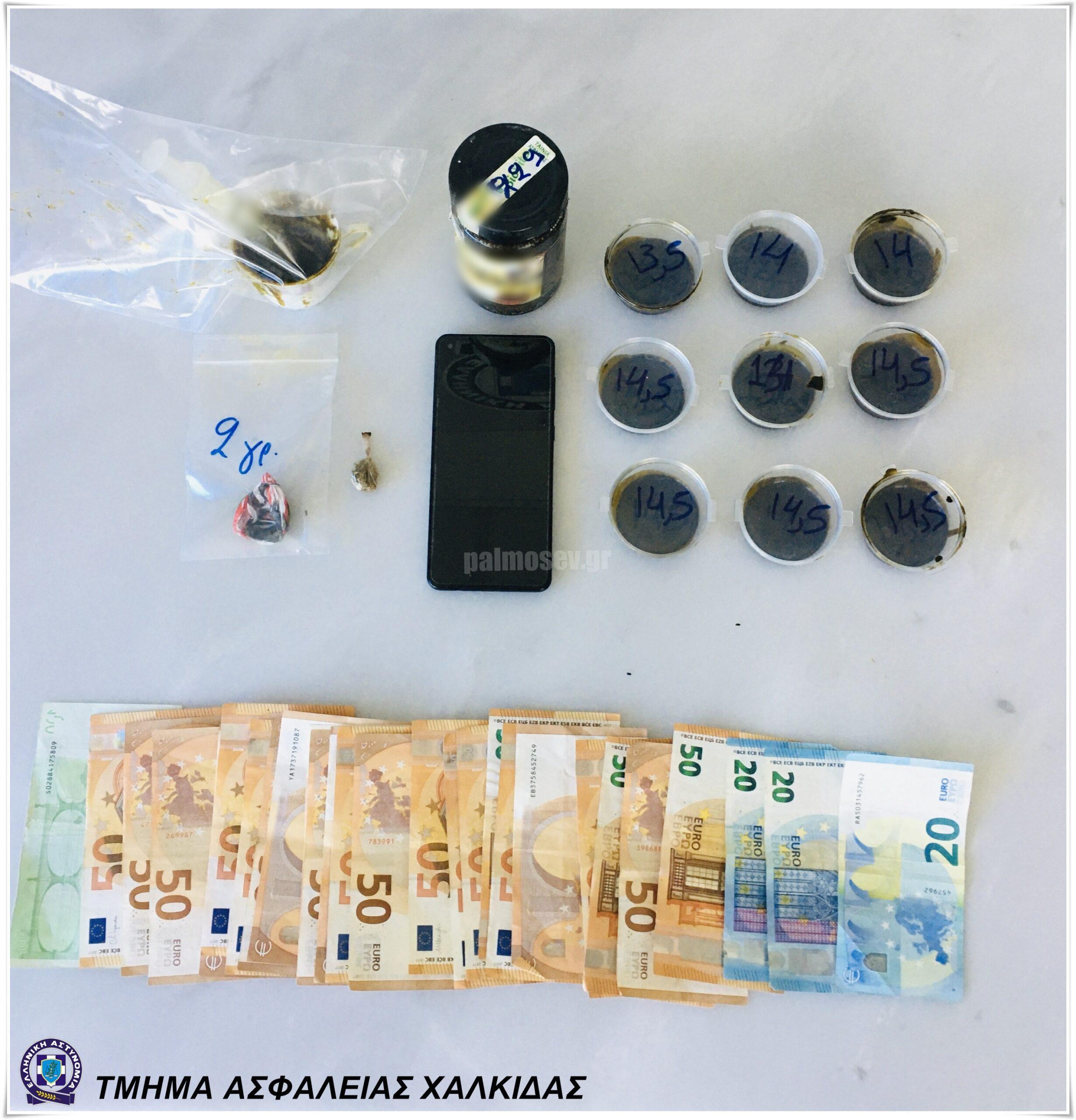 Συνελήφθη  στην Αμάρυνθο, για κατοχή και διακίνηση ναρκωτικών