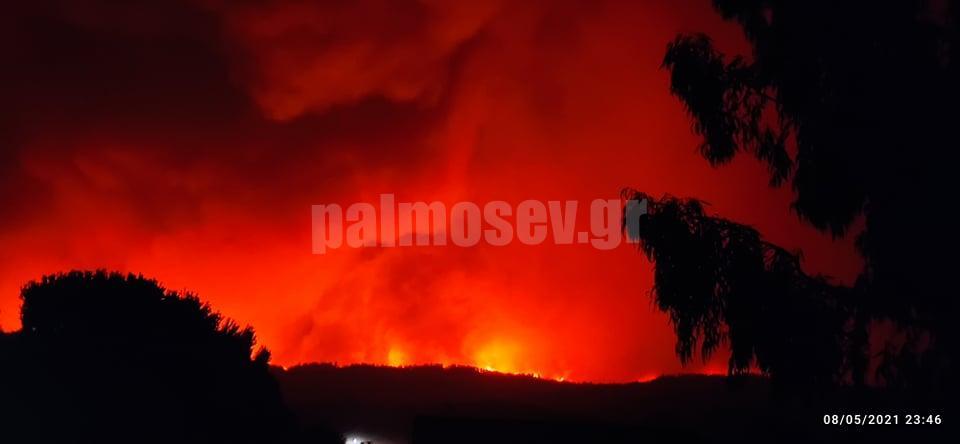 Περιφέρεια Στερεάς Ελλάδας: Κηρέας και Νηλέας σε κατάσταση έκτακτης ανάγκης – Καίγεται η Αγία Άννα