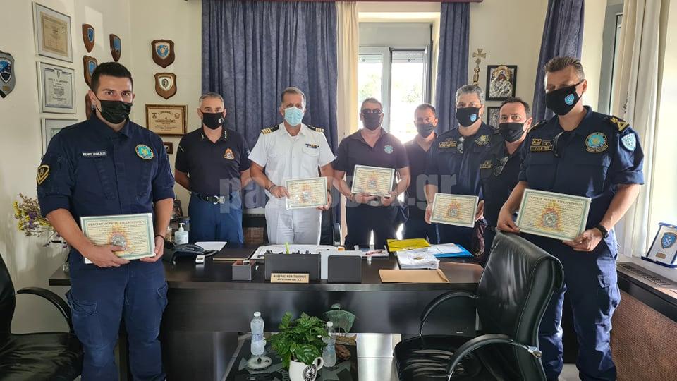 Έκφραση Συγχαρητηρίων της Περιφερειακής Πυροσβεστικής Διοίκησης προς το Κ.Λ. ΧΑΛΚΙΔΑΣ